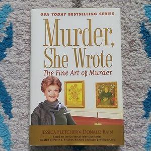 Murder, She Wrote - Fine Art of Murder Hardcover